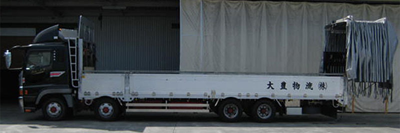 増トン低床車(ソフトトップ)エアサス仕様